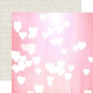 Бумага Pink Hearts, коллекция Lucky In Love