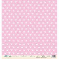 Бумага принцесса, коллекция розовый единорог