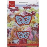 Формы для вырубки бабочки