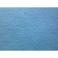 Голубая бумага с тиснением бабочки А4