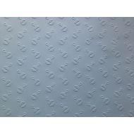 Голубая бумага с тиснением погремушки А4
