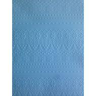 Голубая бумага с тиснением зимний свитер А4