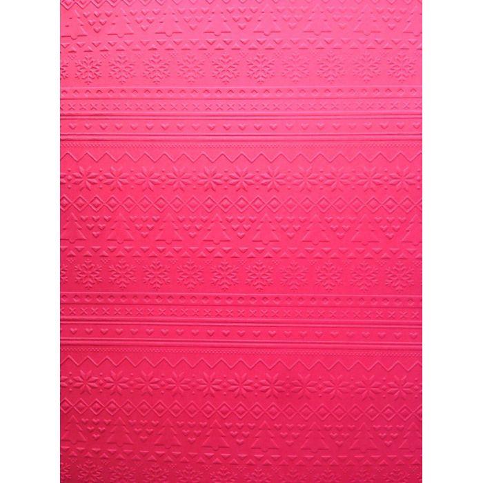 Красная бумага с тиснением зимний свитер А4 для скрапбукинга