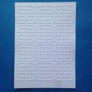 Лабиринт, тисненый картон