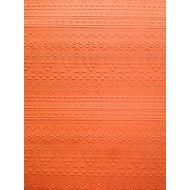 Оранжевая бумага с тиснением зимний свитер А4