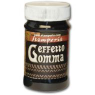 Паста для создания эффекта резины Effetto Gomma чёрная