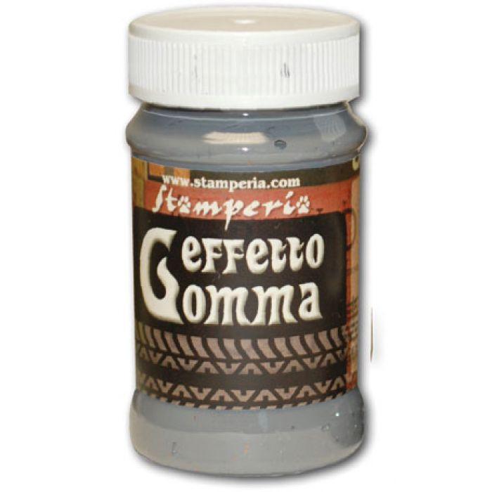 Паста для создания эффекта резины Effetto Gomma серая для скрапбукинга