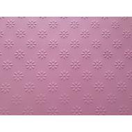 Розовая бумага с тиснением ромашки А4
