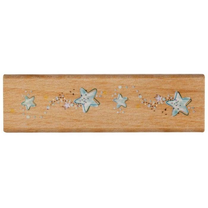 Штамп резиновый звёздочки для скрапбукинга