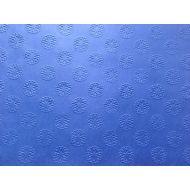Ярко-синяя бумага с тиснением цветы А4