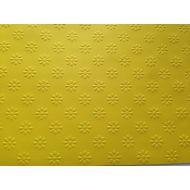 Ярко-жёлтая бумага с тиснением ромашки А4