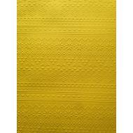Ярко-жёлтая бумага с тиснением зимний свитер А4