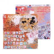 Бумага алфавит, коллекция Crazy in love