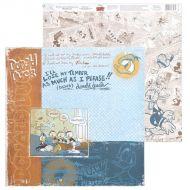 Бумага Дональд Дак, коллекция Old's cool