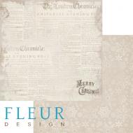 Бумага газетные вырезки, коллекция новогодняя ночь