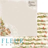 Бумага подарки, коллекция новогодняя ночь