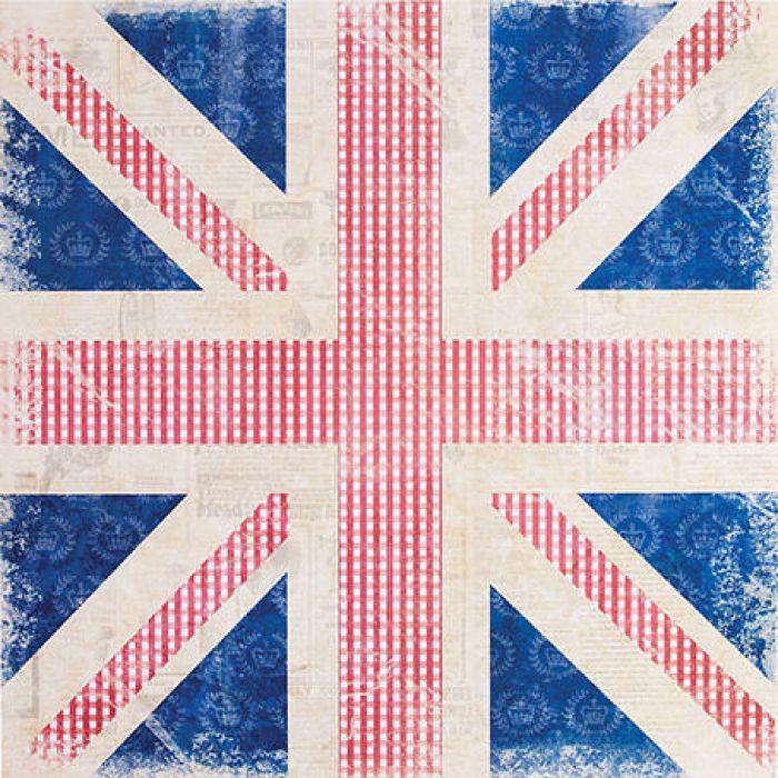 Бумага винтаж-флаг для скрапбукинга