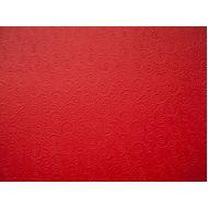 Красная бумага с тиснением завитки