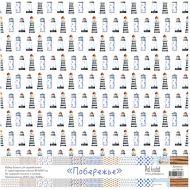 Набор бумаги, коллекция побережье 30,5 х 30,5 см