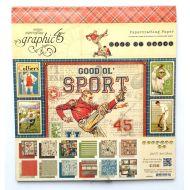 Набор бумаги Good Ol' Sport, 20 х 20 см