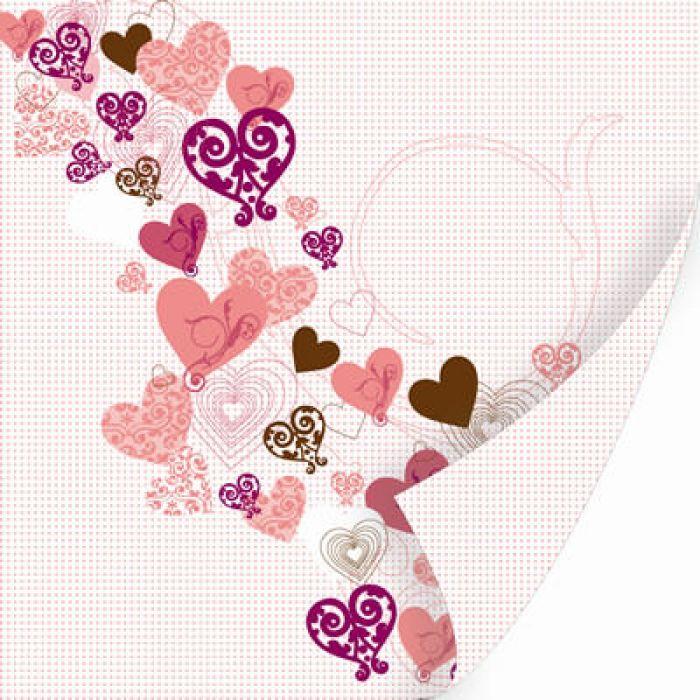 Бумага Mon coeur, коллекция Chocolat для скрапбукинга