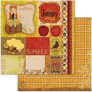 Бумага Journey, коллекция Apple Cider