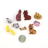 Набор пуговиц Кошки-мышки