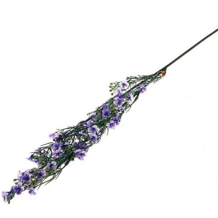 Цветы искусственные Колокольчик синий для скрапбукинга