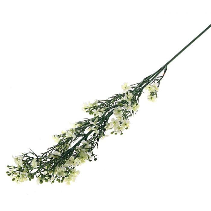 Цветы искусственные Колокольчик белый для скрапбукинга
