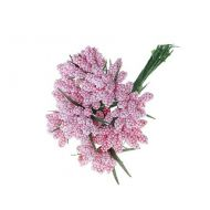 "Декор ""Цветочная бахрома"" светло-розовая"