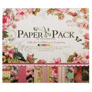 Набор бумаги Цветочный рай, 30*30 см