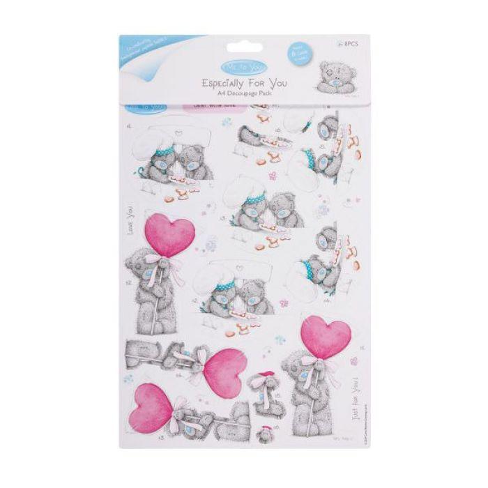 Набор для создания открыток Любовь, коллекция ME TO YOU для скрапбукинга