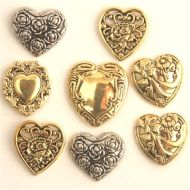 "Набор пуговиц ""Hearts"""