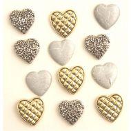 Набор пуговиц Small Hearts