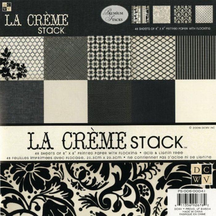 Набор бумаги LA CREME, 20 х 20 см для скрапбукинга