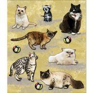 3-D наклейки котики из коллекции маленькие радости жизни
