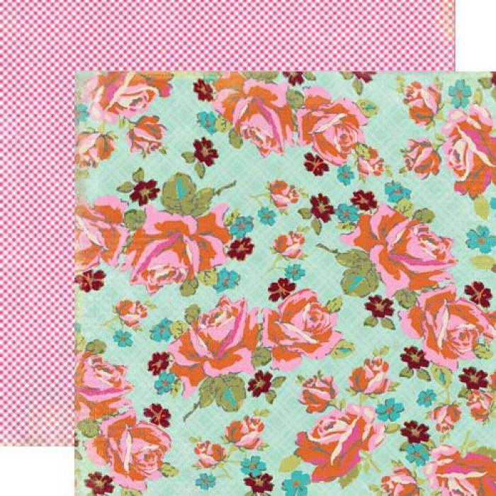 Бумага Swoon, коллекция Head over Heels для скрапбукинга