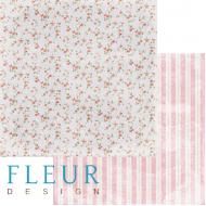 Бумага цветение, коллекция вишневый десерт