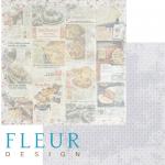Бумага рецепты, коллекция вишневый десерт