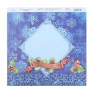 Бумага с новым годом, коллекция мороз и солнце