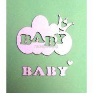Чипборд облако Baby