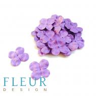 Гортензия фиолетовая 3 см