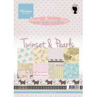 Набор бумаги Twinset&Pearls А5
