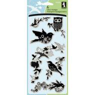 Набор штампов изобилие птиц