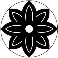 Дырокол цветок