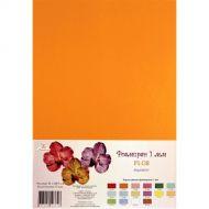 Апельсиновый фоамиран 1 мм