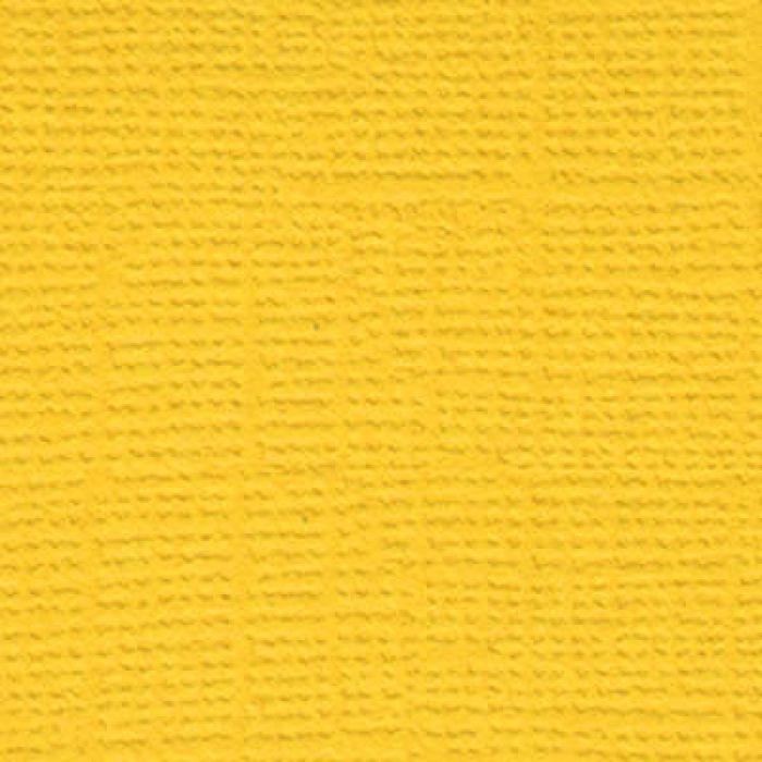 Кардсток текстурированный Кукурузный початок (ярко-жёлтый) для скрапбукинга