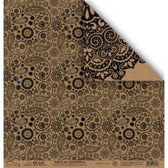 Бумага 1310-2, коллекция Крафт