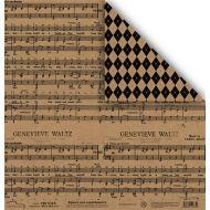 Бумага 1310-5, коллекция Крафт
