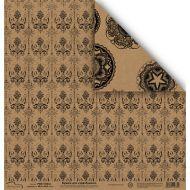 Бумага 1310-4, коллекция Крафт